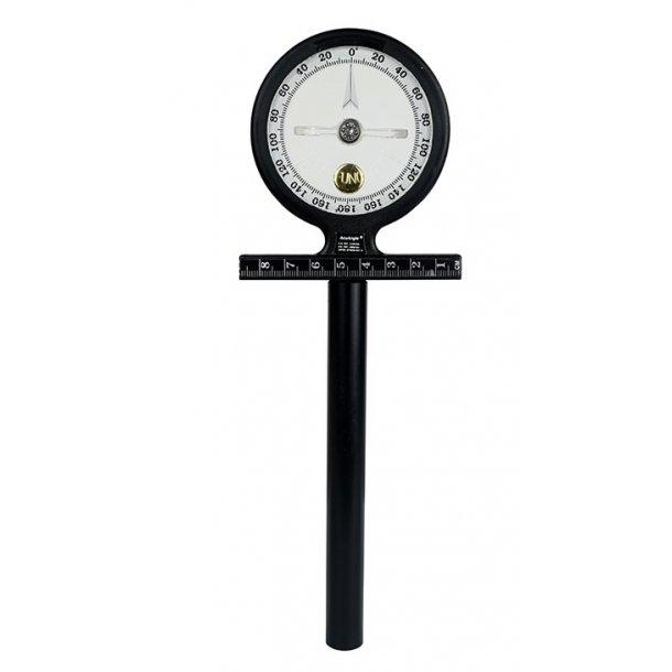 Inclinometer - goniometer til måling af supination/pronation