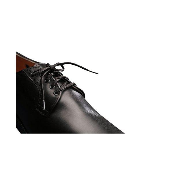 Elastiske snørebånd sort 45 cm