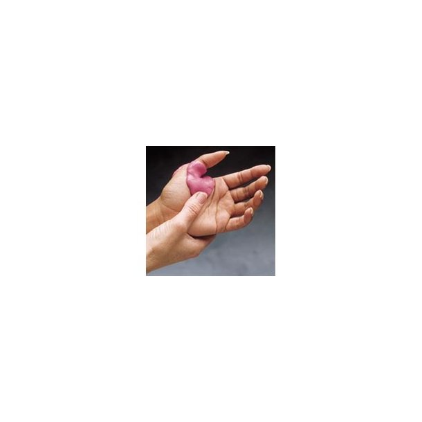 Putty Elastomer - rød - 340 g