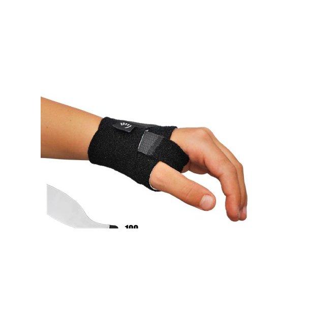 Hand Aid tommelstøtte lav model med foret tommelstop