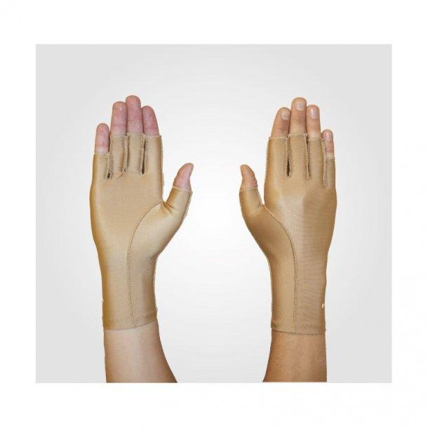 Ødemhandske ¾ finger bilateral let tryk