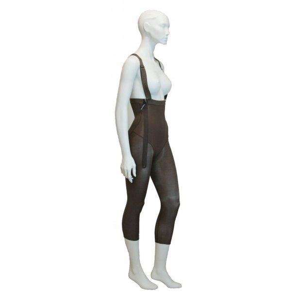 Liposuction panties for Women, High waist, Model; below knee