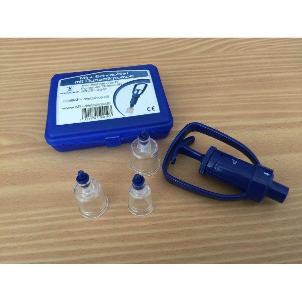 Mini arvævspumpe - dynamisk pumpe - 2 hoveder