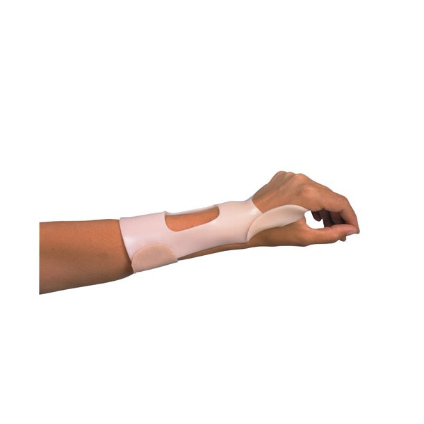 Dorsal cock-up splint x-small orfit cl. 3,2 non perf pakke med 2 stk