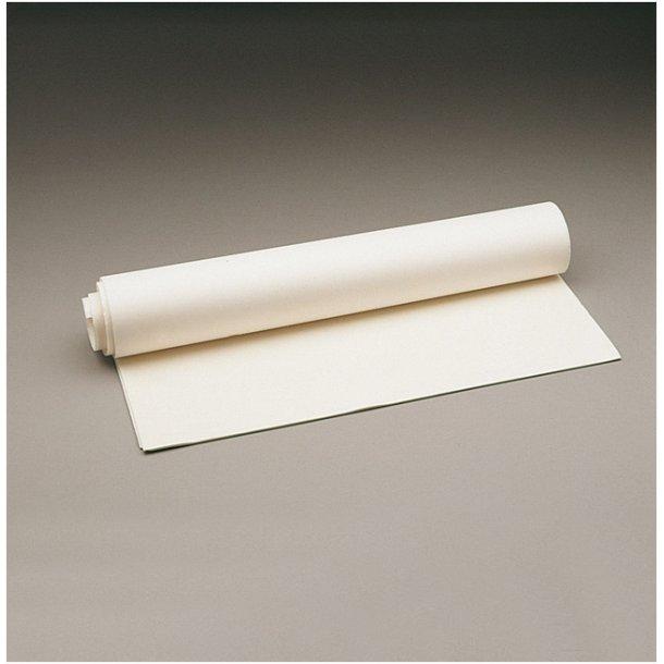 Luxofoam non perforated 49 cm x 97 cm x 3 mm hvid
