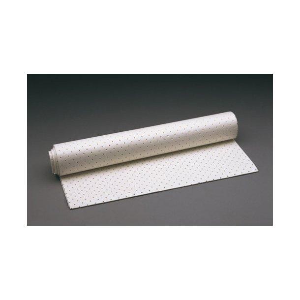 Luxofoam perforated 49 cm x 97 cm x 3 mm hvid