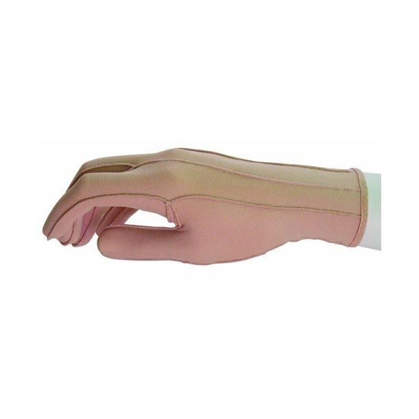 Kompressionshandskel til voksne med lukkede fingre