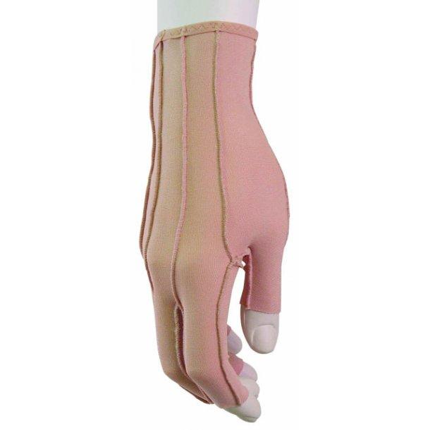 Kompressionshandsker til voksne med åbne fingerspidser