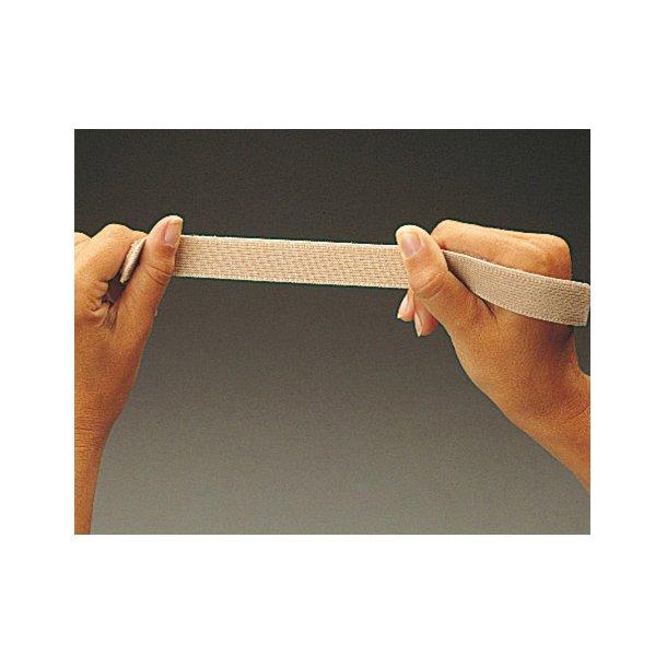 Loop tape elastic sort 25 mm - rulle a 25 m