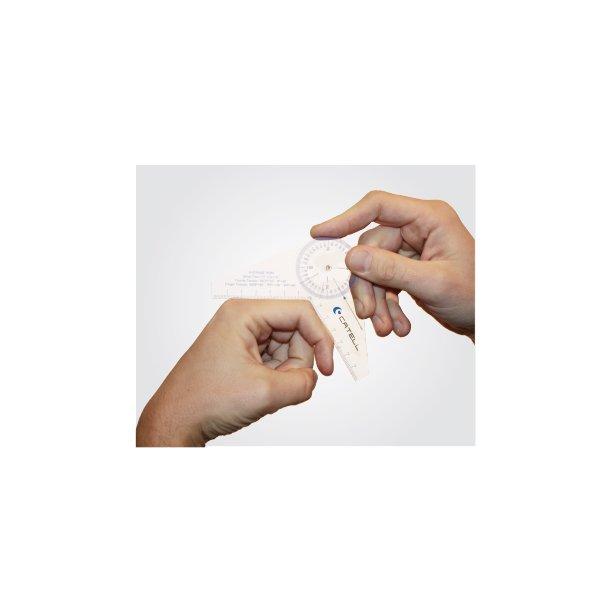 Universal fingergoniometer
