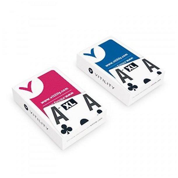 Spillekort med store symboler (1 stk. TILBAGE)