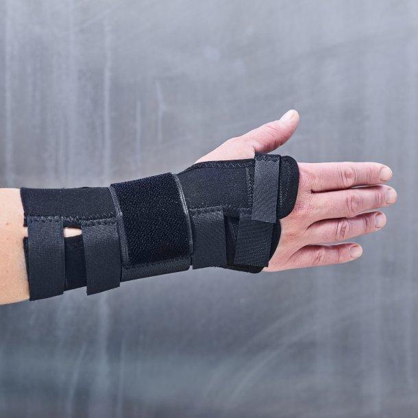 Manibus strong håndledsbandage - sort