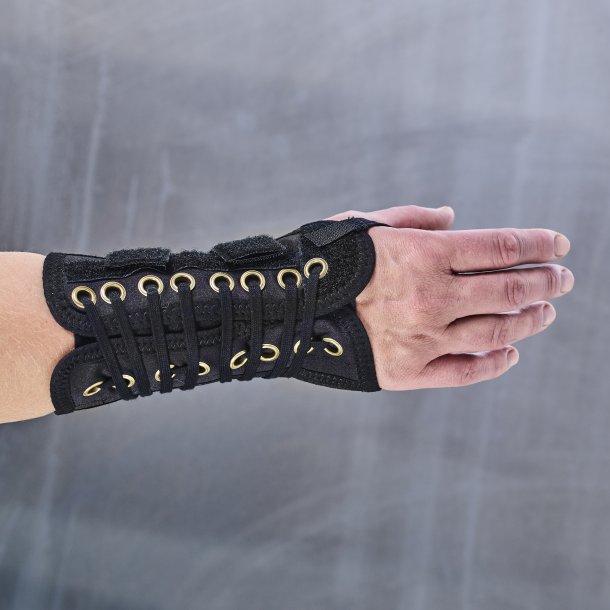 Manibus lace håndledsbandage - sort