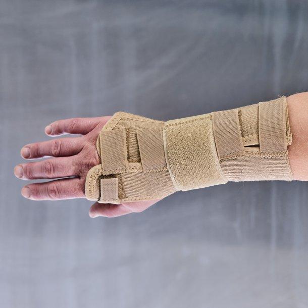 Manibus strong håndledsbandage - beige