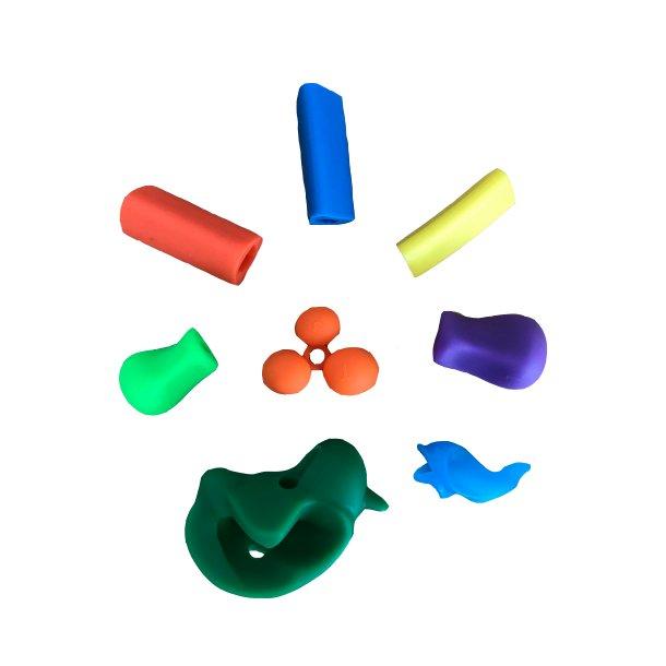 Sampakke af blyantsgreb