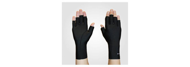 Kompressions handsker til ødem og gigt