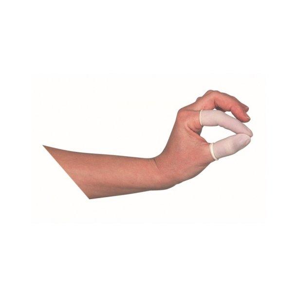 Latex fingerhandske 100 stk. pr. pakke