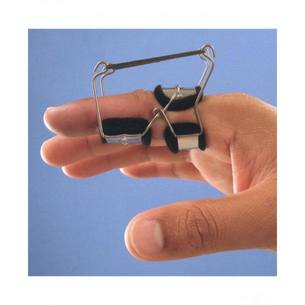 Dynamisk finger ekstensionsskinne med elastik